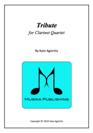 Tribute – Clarinet Quartet