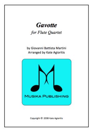 Gavotte – Flute Quartet