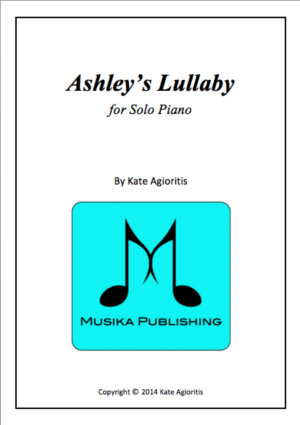 Ashley's Lullaby – for Solo Piano