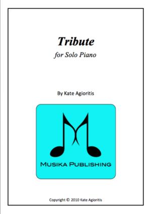 Tribute – Piano Solo