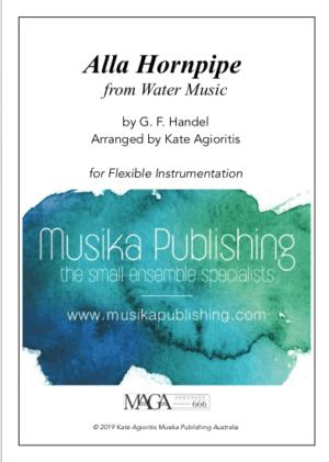 Alla Hornpipe – Water Music – Flexible Instrumentation