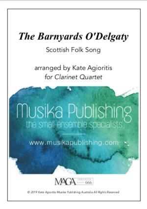 The Barnyards of Delgaty – Clarinet Quartet