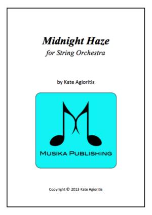 Midnight Haze – String Orchestra