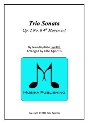 Trio Sonata – String Orchestra
