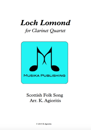 Loch Lomond – Clarinet Quartet