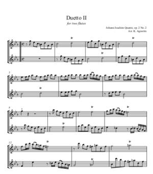 Duetto II – Flute Duet