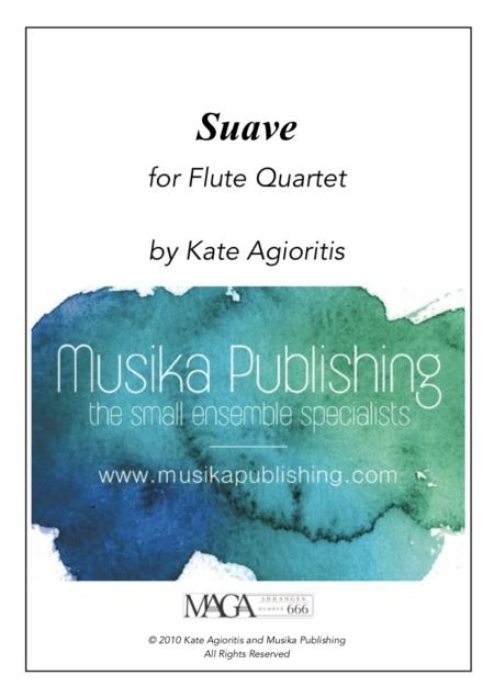Suave – Flute Quartet