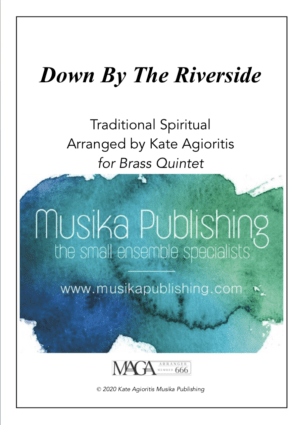 Down by the Riverside – Jazz Arrangement for Brass Quintet