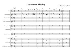 Christmas Medley – school band