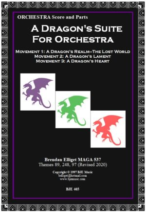A Dragon's Suite for Orchestra – All 3 movements