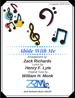 Abide With Me for a cappella SATB Choir