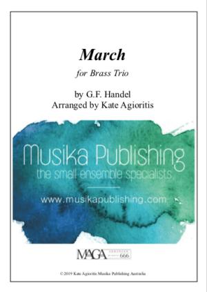 March (Handel) – for Brass Trio