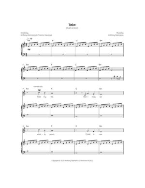 TAKE (piano/vocal/chords)