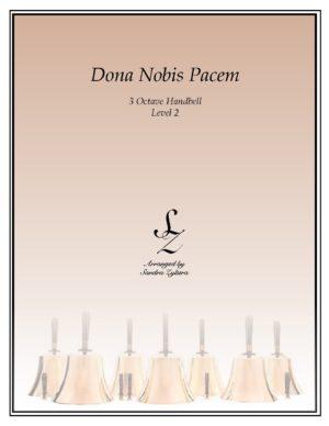 Dona Nobis Pacem -3 Octave Handbells