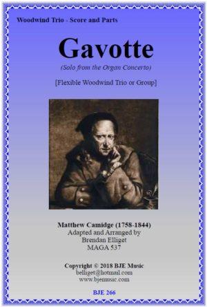 Gavotte (Camidge) – Flexible Woodwind Trio