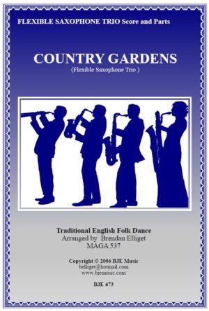 Country Gardens – Flexible Saxophone Trio