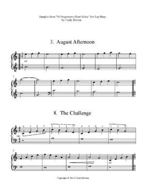 50 Progressive Short Solos, Lap Harp