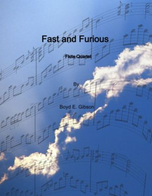 Fast and Furious; Flute Quartet