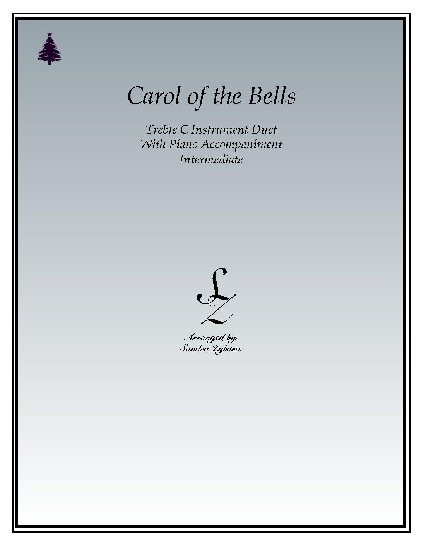 Carol Of The Bells – Instrument Duet & Piano Accompaniment