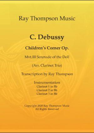 Debussy: Children's Corner III Serenade of the Doll – clarinet trio