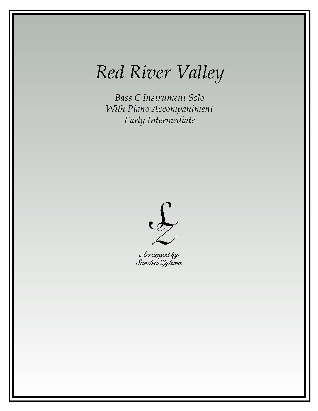 Red River Valley -Bass C Instrument Solo