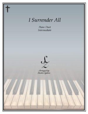 I Surrender All -Intermediate Piano Duet
