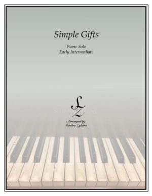 Simple Gifts -Early Intermediate Piano Solo