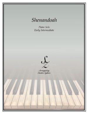 Shenandoah -Early Intermediate Piano Solo