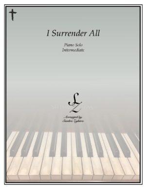 I Surrender All -Intermediate Piano Solo