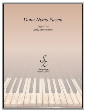 Dona Nobis Pacem – Piano Trio