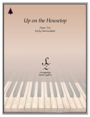 Up On The Housetop – Piano Trio