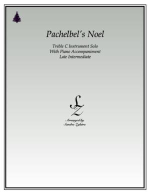 Pachelbel's Noel -Treble C Instrument Solo