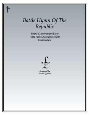 Battle Hymn Of The Republic – Instrument Duet & Piano Accompaniment