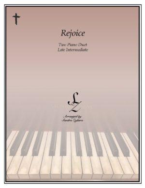 Rejoice! -Two Piano Duet