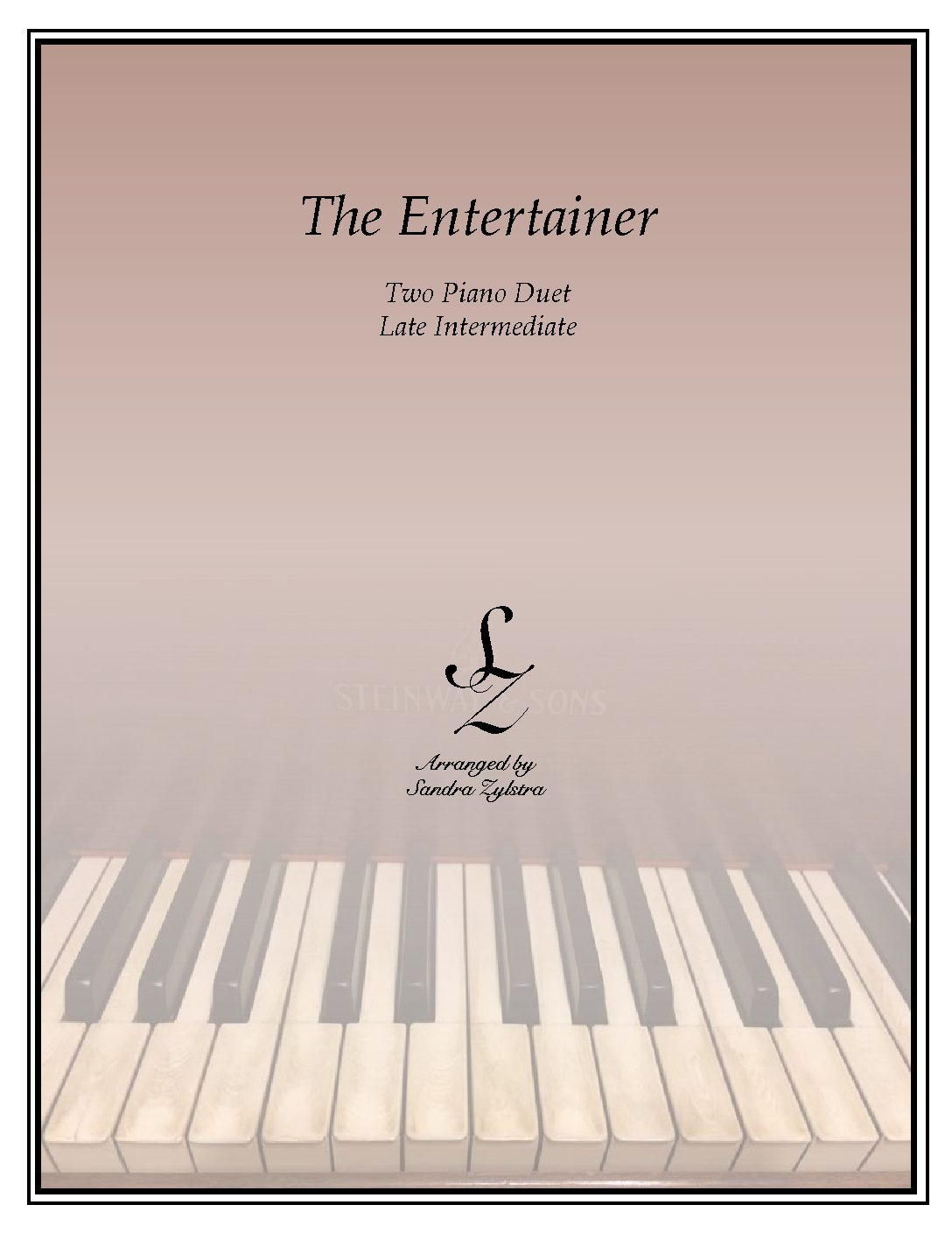 The Entertainer -Two Piano Duet