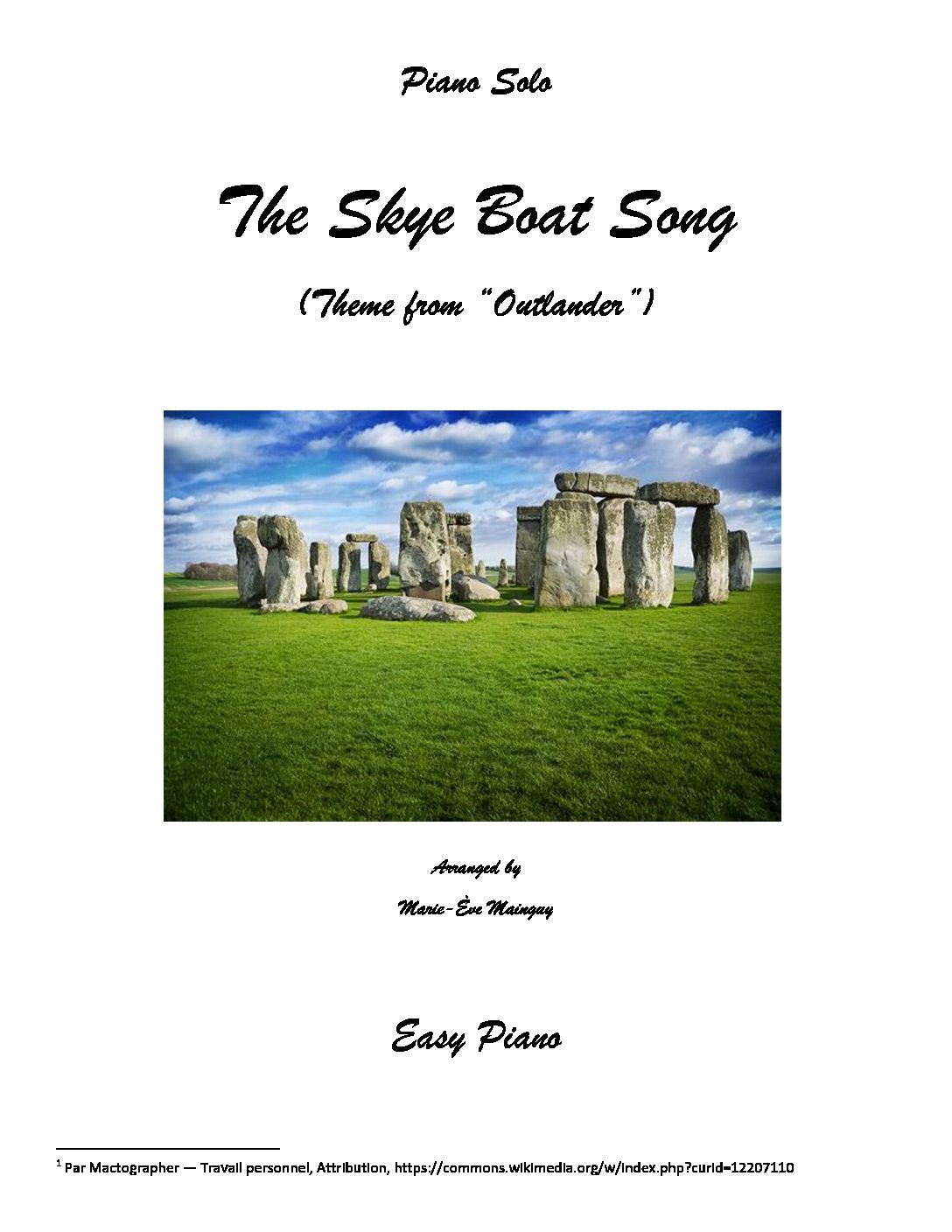 "The Skye Boat Song (Theme from ""Outlander"")"