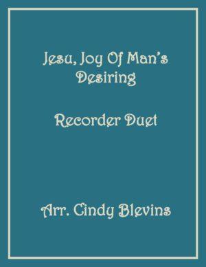 Jesu, Joy of Man's Desiring, Recorder Duet