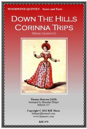 Down The Hills Corinna Trips – Woodwind Quintet