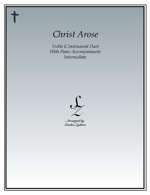 Christ Arose – Instrument Duet & Piano Accompaniment