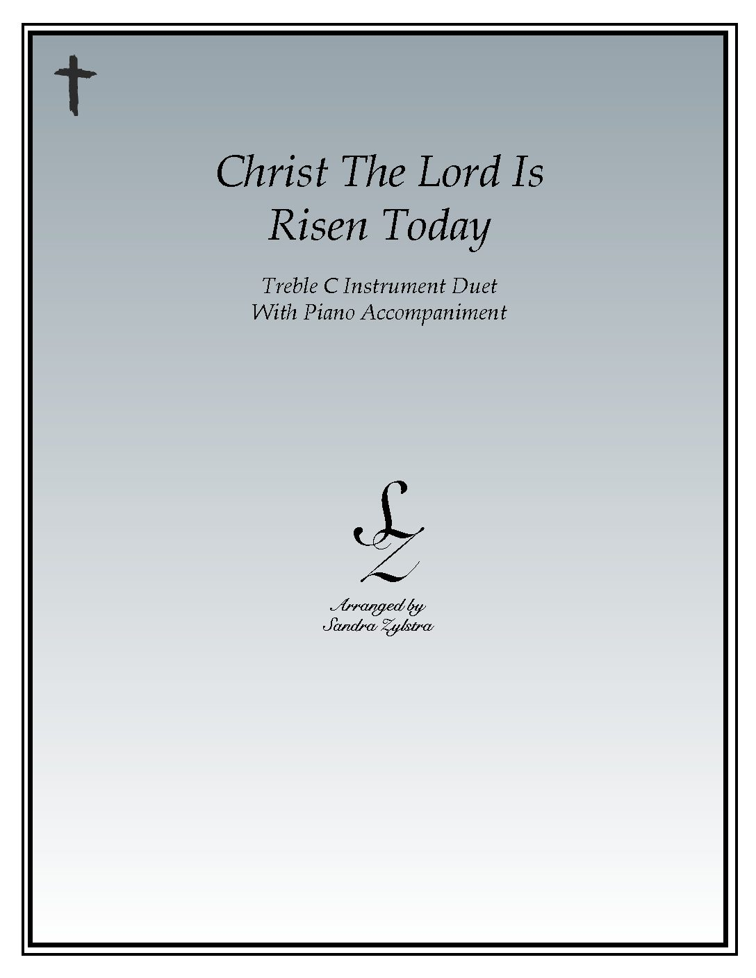 Christ The Lord Is Risen Today – Instrument Duet & Piano Accompaniment