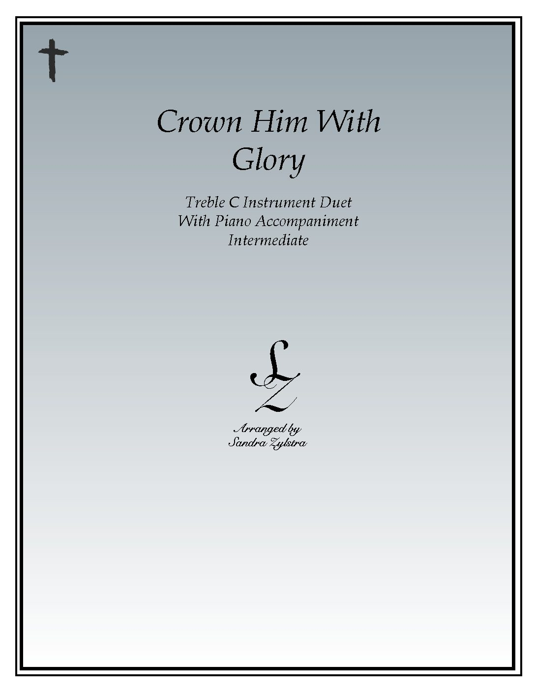 Crown Him With Glory – Instrument Duet & Piano Accompaniment