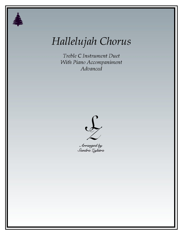 Hallelujah Chorus – Instrument Duet & Piano Accompaniment