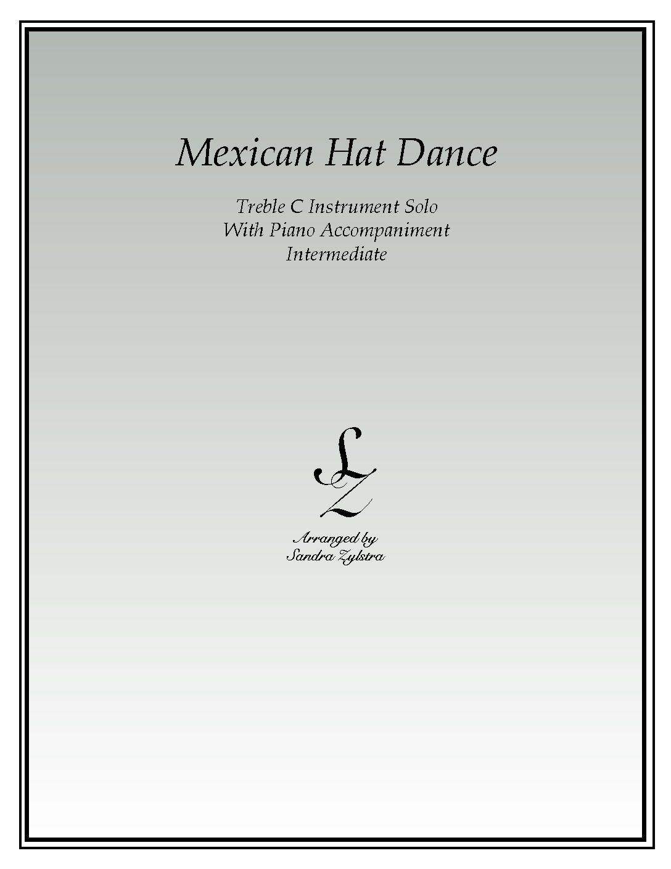 Mexican Hat Dance -Treble C Instrument Solo