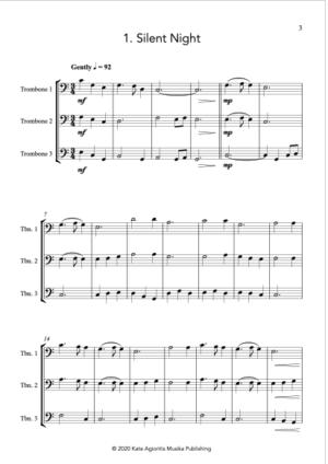 Carols for Three – 15 Carols for Trombone Trio
