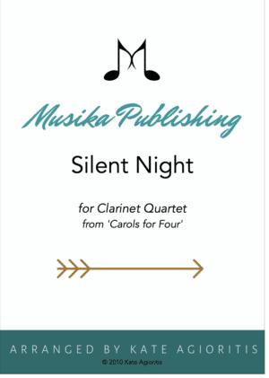 Silent Night – Clarinet Quartet