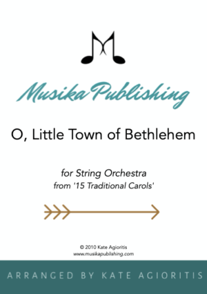 O Little Town of Bethlehem – String Orchestra