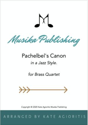 Pachelbel's Canon – A Jazz Arrangement for Brass Quartet