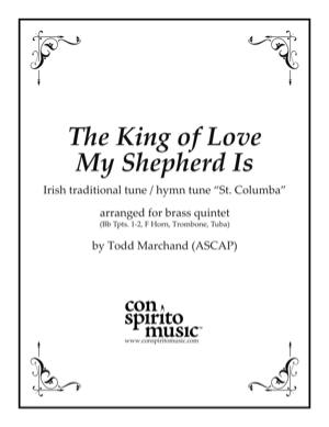 The King of Love My Shepherd Is — brass quintet