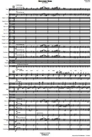 Second Son (For Stephen) – Orchestra
