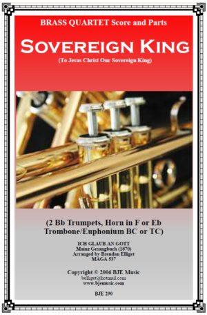 Sovereign King – Brass Quartet